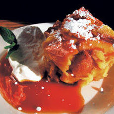 Bread Pudding with Orange Caramel Sauce Recipe