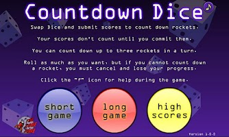 Screenshot of Countdown Dice