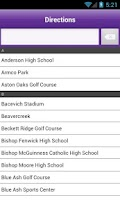 Screenshot of EHS Mobile Sports