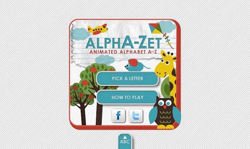Alpha-Zet: Animated Alphabet