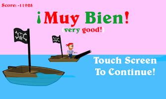 Screenshot of Pirates of the Muy Bien Free