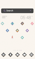 Screenshot of Simple Diamond dodol theme