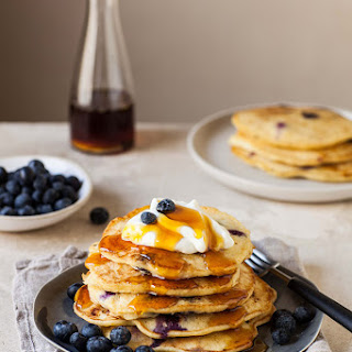 Orange Blueberry Pancakes Recipes