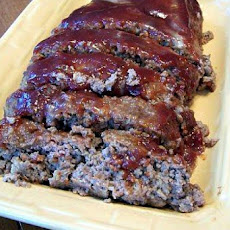 Quick & Easy BBQ Meatloaf (5 Ingredients)