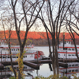 by Dawn Price - Transportation Boats ( riverboats )