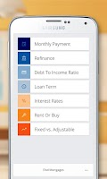 Screenshot of Mortgage and Loan Calculator