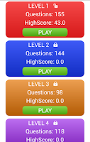 Screenshot of Football Players Club Quiz