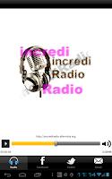 Screenshot of Incredi Radio