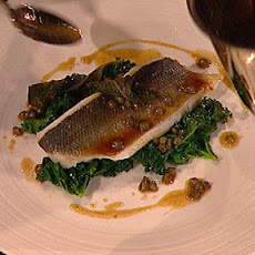 Steamed Sea Bass, Sage And Capers