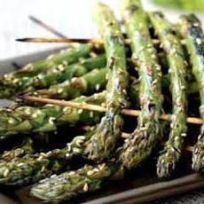 Grilled Asparagus with Gorgonzola Butter