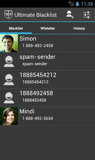 Blacklist-SMS MMS Call Blocker