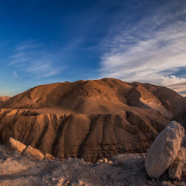 The Judaean Desert by David Solodar - Landscapes Deserts ( the judaean desert )