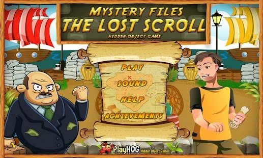 Lost Scroll Free Hidden Object - screenshot