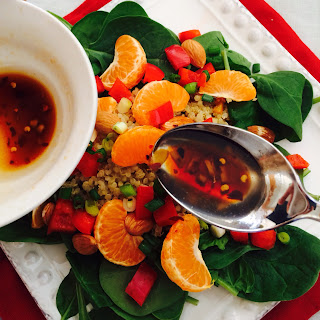 Soy Ginger Coconut Oil Salad Dressing