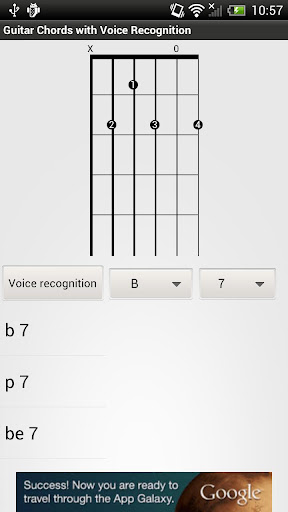 【免費書籍App】Guitar chords - open position-APP點子
