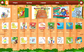 Screenshot of MangoReader - Story books