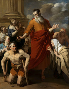 RIJKS: Karel Dujardin: St Paul Healing the Cripple at Lystra 1663