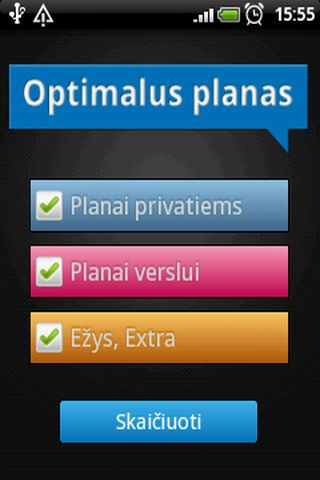 Optimalus Planas