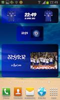 Screenshot of Digital Clock Cruz Azul