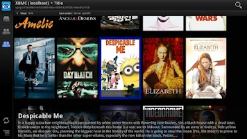 Screenshot of ViMu Player for Google TV