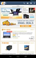 Screenshot of Newegg for Tablet