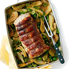 Rosemary Pork Roast with Fennel and Green Olives