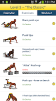 Screenshot of Chest Workout