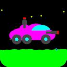 Moon Racer - 2D Retro Shooter icon