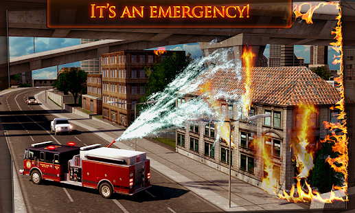 Free Download Fire Truck Emergency Rescue 3D APK for Samsung