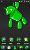 Screenshot of Andy Theme 4 GO Launcher EX