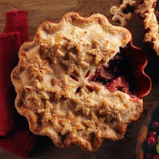 Spiced Apple-Cranberry Pie