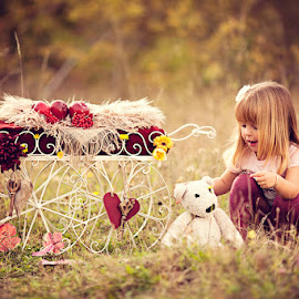 Alana & Her Teddy by Chinchilla  Photography - Babies & Children Toddlers