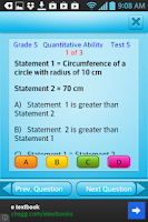 Screenshot of Free Grade 5 Math English 5th