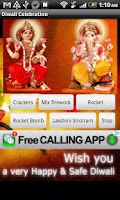 Screenshot of Diwali Virtual Crackers