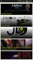 Screenshot of Jukebox Music Cafe