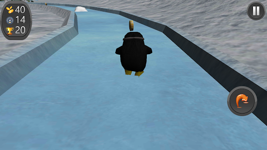 Penguin Roller Skate Race 3D - screenshot
