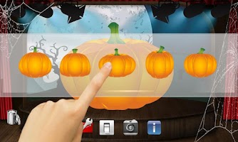 Screenshot of Halloween Pumpkins Nexus 7