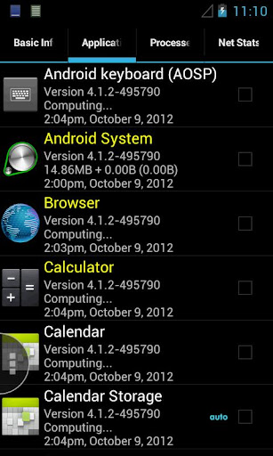 quick-system-info-pro for android screenshot