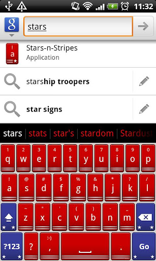 Stars-n-Stripes Keyboard Theme