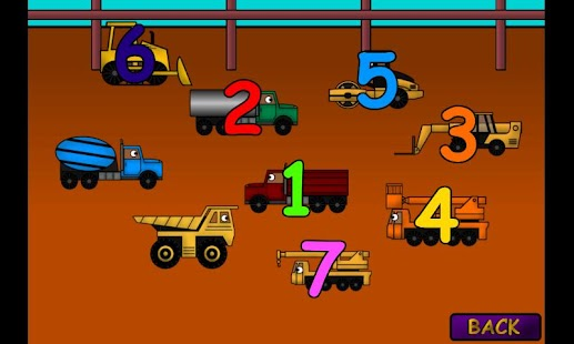 Kids Trucks Numbers & Counting - screenshot