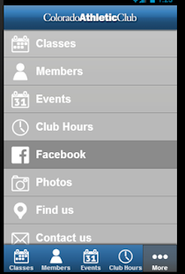 Colorado Athletic Club-Tabor - screenshot