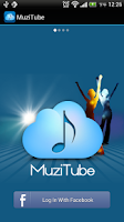 Screenshot of MuziTube