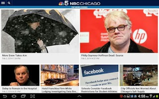 Screenshot of NBC Chicago