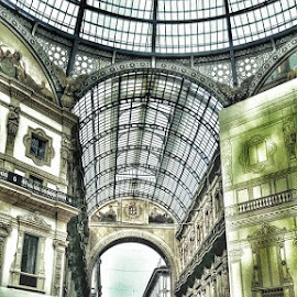 Mall in center of Milan by Ryan Sawicki - Buildings & Architecture Other Exteriors
