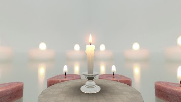 Screenshot of Unity 3D Candle