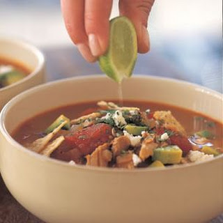Tortilla Soup with Pork