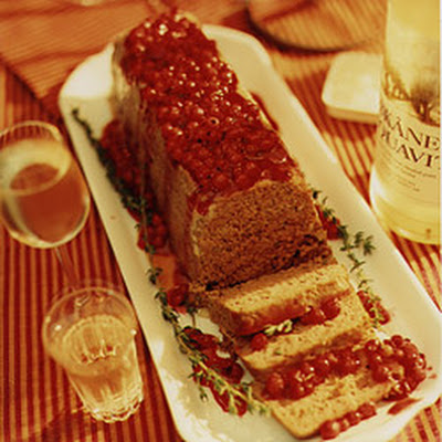 Venison Terrine with Red Currant Sauce