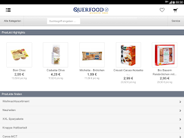 Screenshot of QUERFOOD glutenfrei leben