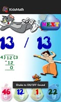 Screenshot of Maths Quiz - Maths learning