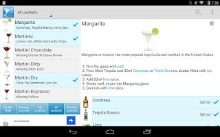 Screenshot of My Cocktail Bar